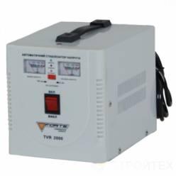 Стабилизатор напряжения однофазный FORTE TVR-2000VA